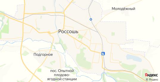 Карта Россоши с улицами и домами подробная. Показать со спутника номера домов онлайн