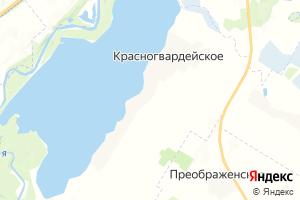 Карта с. Красногвардейское Республика Адыгея