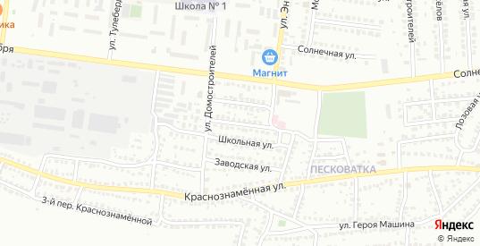 Улица Ульяны Громовой в Лисках с номерами домов на карте. Спутник и схема онлайн