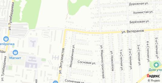 Молодежной 3-й переулок в Лисках с номерами домов на карте. Спутник и схема онлайн