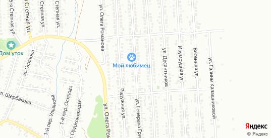 Улица Генерала Грибкова в Лисках с номерами домов на карте. Спутник и схема онлайн