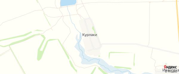 Карта хутора Курлаки в Ростовской области с улицами и номерами домов