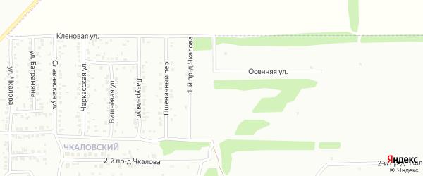 Архитектурная улица на карте Россоши с номерами домов