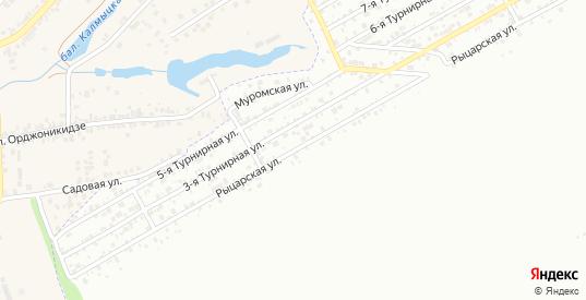 Рыцарская улица в Ростове-на-Дону с номерами домов на карте. Спутник и схема онлайн
