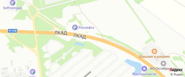 Дорога 299 км федеральной а/д Орел-Тамбов на карте Липецка с номерами домов