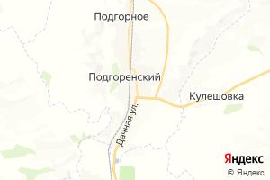 Карта пгт Подгоренский Воронежская область