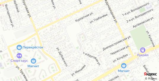 Переулок Траилина в Ростове-на-Дону с номерами домов на карте. Спутник и схема онлайн