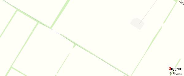 Карта садового некоммерческого товарищества Утра в Адыгее с улицами и номерами домов