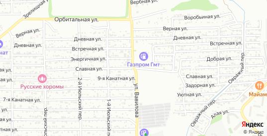 Славная улица в Ростове-на-Дону с номерами домов на карте. Спутник и схема онлайн