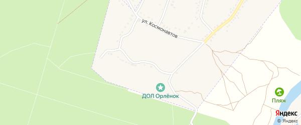 Улица Космонавтов на карте Усмани с номерами домов