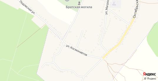 Луговая улица в Усмани с номерами домов на карте. Спутник и схема онлайн