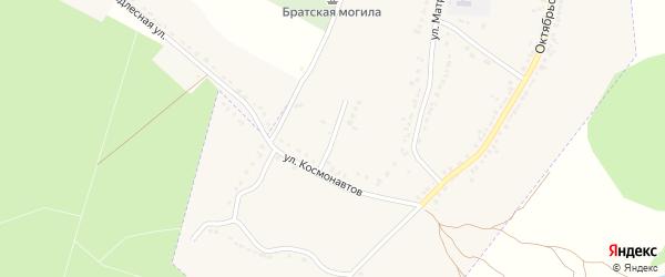 Луговая улица на карте Усмани с номерами домов