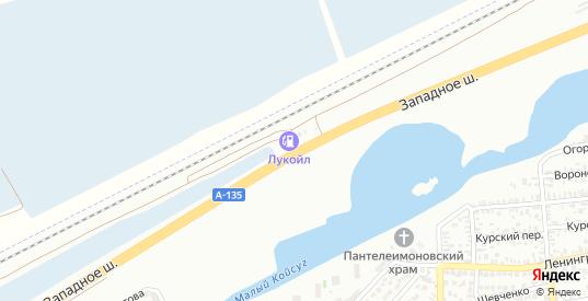 Западное шоссе в Батайске с номерами домов на карте. Спутник и схема онлайн