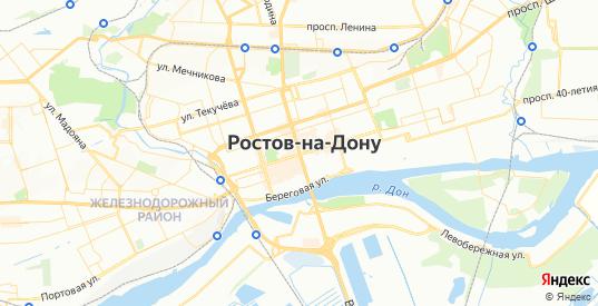 Карта Ростова-на-Дону с улицами и домами подробная. Показать со спутника номера домов онлайн