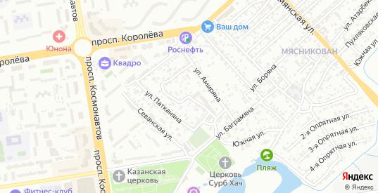 Дубовский переулок в Ростове-на-Дону с номерами домов на карте. Спутник и схема онлайн