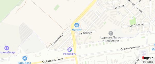 Майский переулок на карте Верхнетемерницкого поселка Ростовской области с номерами домов