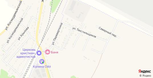 Весенняя улица в Усмани с номерами домов на карте. Спутник и схема онлайн