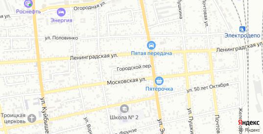Городской переулок в Батайске с номерами домов на карте. Спутник и схема онлайн