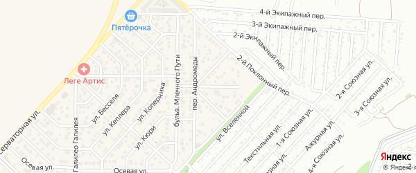 Улица Невесомости на карте Верхнетемерницкого поселка Ростовской области с номерами домов