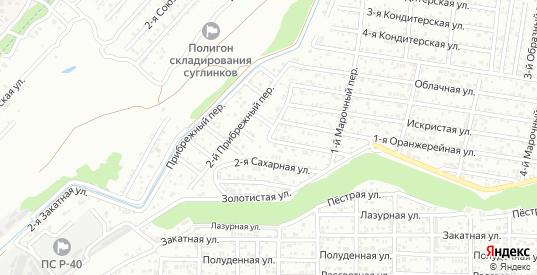 3-й Прибрежный переулок в Ростове-на-Дону с номерами домов на карте. Спутник и схема онлайн