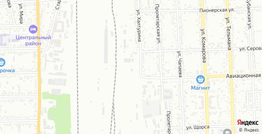 Лиственная улица в поселке Дружба в Батайске с номерами домов на карте. Спутник и схема онлайн