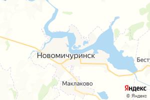 Карта г. Новомичуринск Рязанская область
