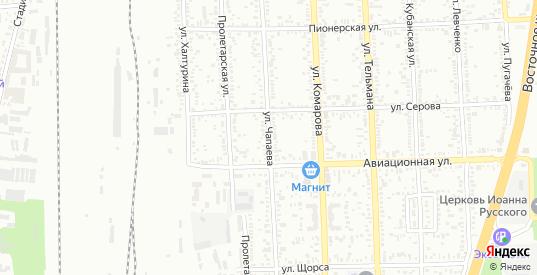 Улица Чапаева в Батайске с номерами домов на карте. Спутник и схема онлайн