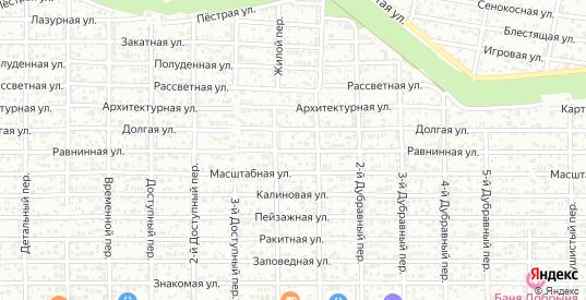 Равнинная улица в Ростове-на-Дону с номерами домов на карте. Спутник и схема онлайн