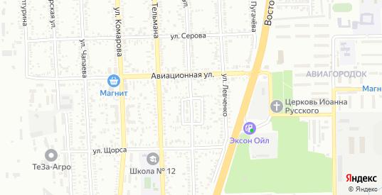 Строительный переулок в Батайске с номерами домов на карте. Спутник и схема онлайн