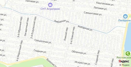 Ловкий переулок в Ростове-на-Дону с номерами домов на карте. Спутник и схема онлайн
