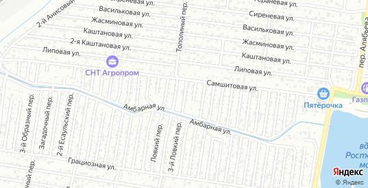 4-й Каретный переулок в Ростове-на-Дону с номерами домов на карте. Спутник и схема онлайн