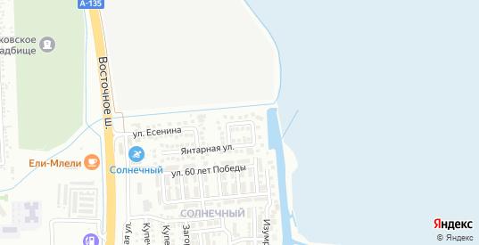 Лазурная улица в Батайске с номерами домов на карте. Спутник и схема онлайн