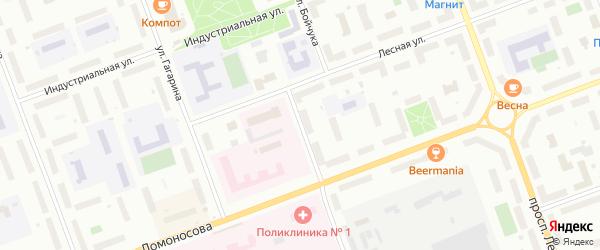 Улица Георгия Седова на карте Северодвинска с номерами домов