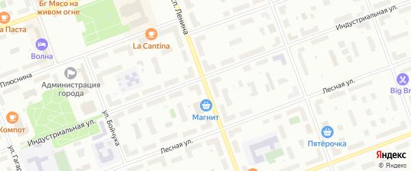 Проспект Ленина на карте Северодвинска с номерами домов