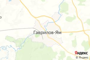 Карта г. Гаврилов-Ям Ярославская область