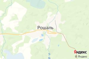 Карта г. Рошаль Московская область