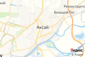 Карта г. Аксай Ростовская область