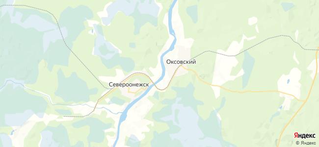 Тетерина на карте