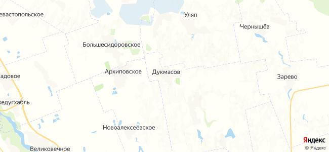 Дукмасов на карте