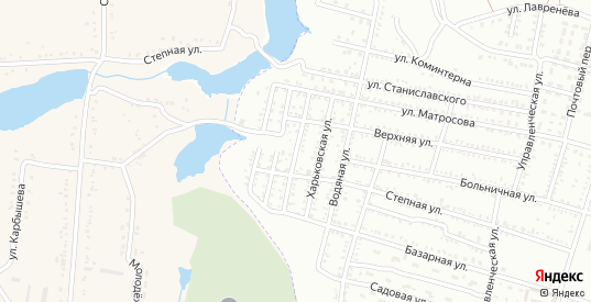 Улица Парижской Коммуны в Гуково с номерами домов на карте. Спутник и схема онлайн