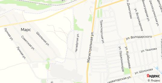 Карта поселка Восход в Гуково с улицами, домами и почтовыми отделениями со спутника онлайн