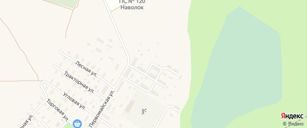 Северная улица на карте Оксовский поселка Архангельской области с номерами домов