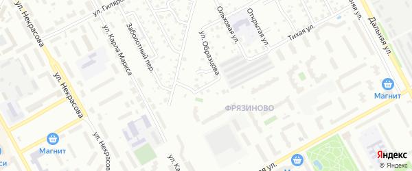 2-ой Тихий переулок на карте Вологды с номерами домов