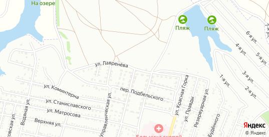 Улица Лавренева в Шахтах с номерами домов на карте. Спутник и схема онлайн