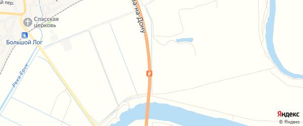 Территория СНТ Связист на карте Аксайского района Ростовской области с номерами домов