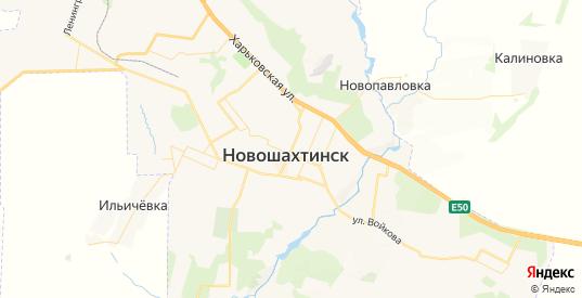 Карта Новошахтинска с улицами и домами подробная. Показать со спутника номера домов онлайн