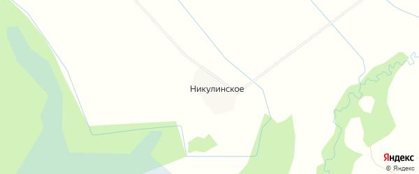 Карта деревни Никулинского в Вологодской области с улицами и номерами домов