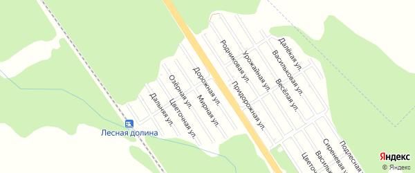 Дорожная улица на карте Лесной сказки с номерами домов