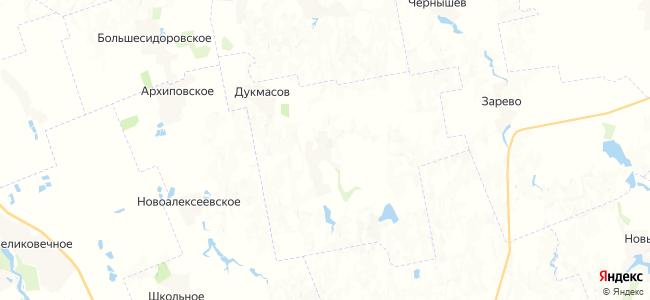 Мокроназаров на карте