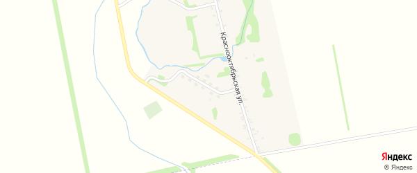 Молодежная улица на карте хутора Мамацева Адыгеи с номерами домов